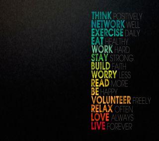 Обои на телефон работа, навсегда, любовь, ешь, высказывания, будь, love, live forever, live