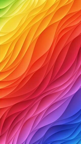 Обои на телефон радуга, фон, красочные, абстрактные