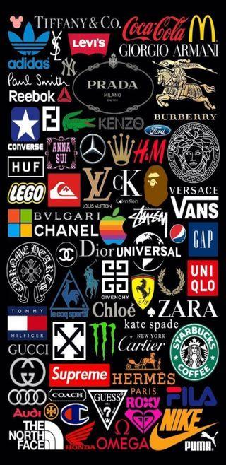 Обои на телефон стиль, париж, самсунг, одежда, логотипы, коллаж, амолед, samsung note 9, qhd, labels, clothing labels logo, amoled