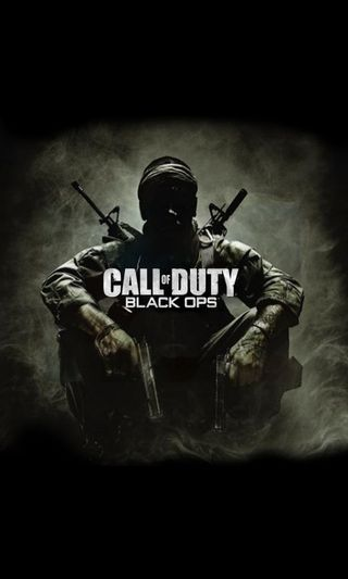 Обои на телефон видео, черные, оружие, игры, игра, call of duty, black ops