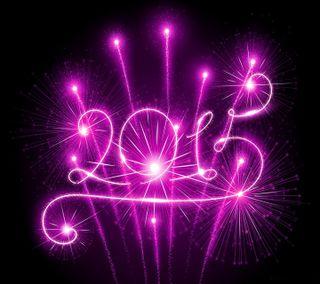 Обои на телефон фейерверк, фиолетовые, светящиеся, свет, праздновать, новый, sparkler, 2015