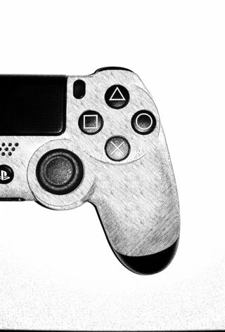 Обои на телефон управление, пс4, сони, игра, ps4, joystick, consola sony