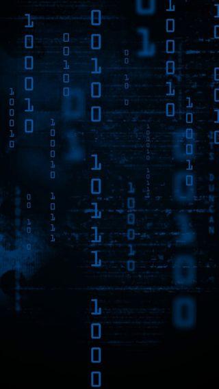 Обои на телефон код, синие, матрица, жизнь, binary life, binary