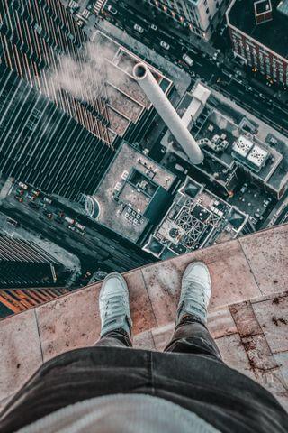 Обои на телефон скейт, новый, здания, man, climbing man, climbing, ciudades, building wallpaper