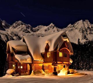 Обои на телефон снежные, взгляд, приятные, прекрасные, милые, горы, snowy mountain