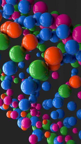 Обои на телефон изображение, шары, фон, приятные, крутые, красочные, hd, colorful balls