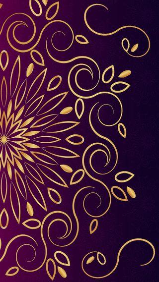 Обои на телефон мандала, шаблон, цветы, цветочные, фиолетовые, украшения, украшение, орнамент, любовь, ислам, индия, золотые, арт, арабские, абстрактные, mandala ornament 1, love, art
