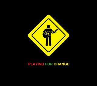 Обои на телефон менять, музыка, мир, playing for change