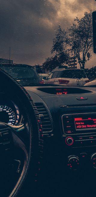 Обои на телефон настроение, шторм, скорость, облачно, облака, мускул, машины, дождь, день, in the storm, cloudy mood, cloudy day