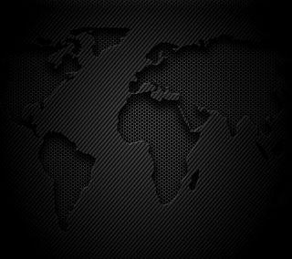 Обои на телефон карта, мир, карбон, волокно, continent