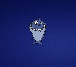 Обои на телефон акула, приятные, мультфильмы, милые, забавные, дизайн, funny shark