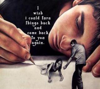 Обои на телефон пожелание, чувства, повредить, одиночество, любовь, грустные, высказывания, wish i could, love, come back