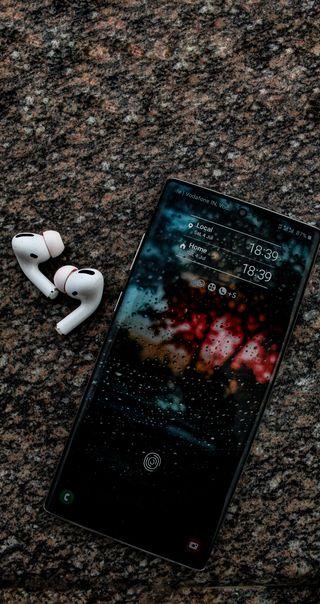 Обои на телефон мобильный, эстетические, эпл, ультра, технологии, реал, писание, камни, аква, earphones, apple, airpods