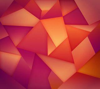 Обои на телефон треугольники, розовые, оранжевые, галактика, абстрактные, s5, galaxy, 3д, 3d