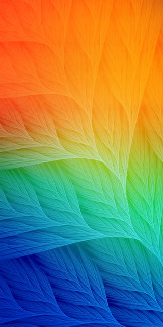 Обои на телефон iphonexr, iphonexsmax, leaves nature, природа, синие, зеленые, оранжевые, листья, экран блокировки, домашний экран, айфон xs