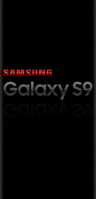 Обои на телефон отражение, черные, серые, самсунг, красые, грани, галактика, андроид, samsung, s9, galaxy, android