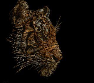 Обои на телефон хищник, тигр, коты, felines, carnivor, bengal tiger