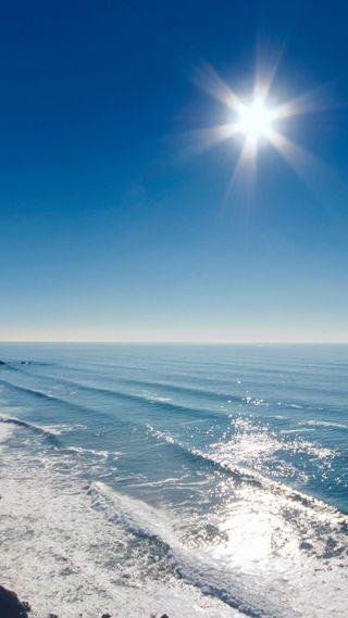 Обои на телефон лето, синие, природа, прекрасные, пляж, небо, любовь, жизнь, волны, love