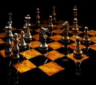 Обои на телефон шахматы, деревянные, черные, темные, игра, дерево, chess hd