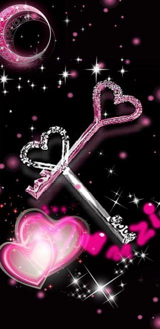 Обои на телефон ключ, симпатичные, серебряные, сердце, сверкающие, розовые, девчачие, блестящие, keys, heartkeys