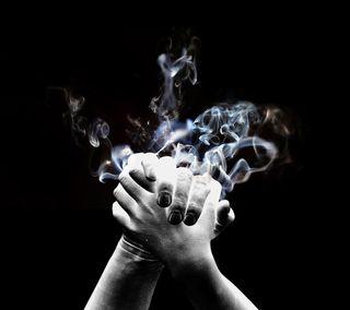 Обои на телефон руки, самсунг, рука, кулак, дым, samsung, s4, clap