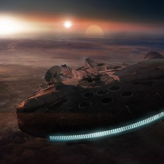 Обои на телефон сокол, корабли, космос, звезда, войны, sw, star wars, lucasfilm