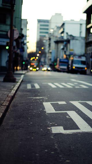 Обои на телефон ок, улица, приятные, огни, крутые, классные, город, вид, автобус, street hd