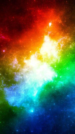 Обои на телефон иллюзии, красочные, галактика, galaxy, colorful-illusion