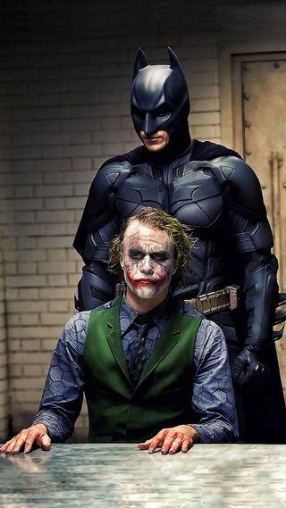 Обои на телефон рыцарь, фильм, джокер, бэтмен, batman  joker