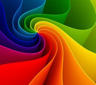 Обои на телефон спираль, цветные, радуга, абстрактные, 3д, 3d