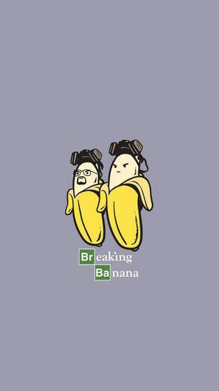 Обои на телефон полет, плохой, маус, банан, flying mouse 365, breaking banana