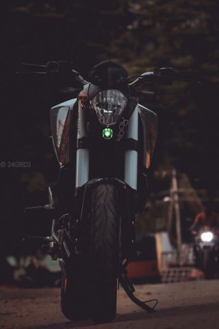 Обои на телефон всадник, спорт, ночь, мотоциклы, ктм, гоночные, байкер, байк, ktmduke, duke, bikewallpaper