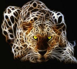 Обои на телефон тигр, рокки, новый, неоновые, любовь, лев, крутые, животные, глаза, абстрактные, love, abstract tiger hd, 2012