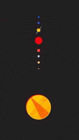 Обои на телефон солнечный, система, планеты, другие
