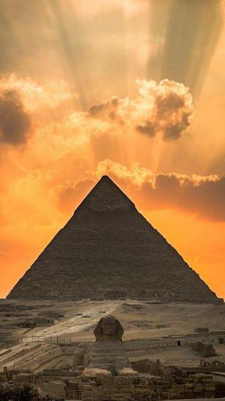 Обои на телефон пирамида, египет, guiza pyramid, el cairo