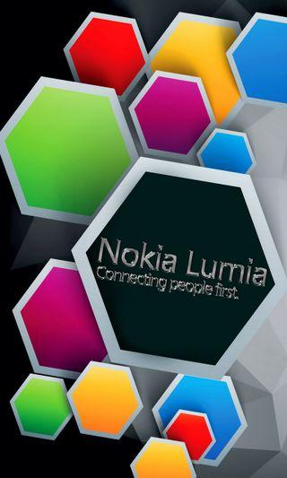 Обои на телефон шестиугольники, нокиа, цветные, люмия, логотипы, красочные, colorful lumia
