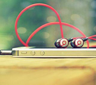 Обои на телефон чувствовать, слушать, песня, наушники, мобильный, технологии, музыка