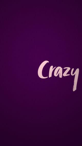 Обои на телефон сумасшедшие, фиолетовые, простые
