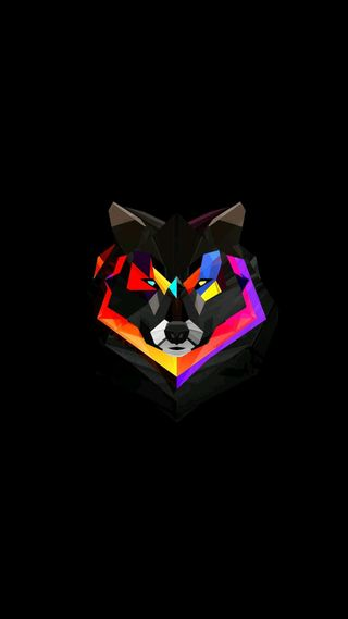 Обои на телефон геометрические, радуга, пушистый, неоновые, логотипы, лиса, красые, гонка, волк, арт, art