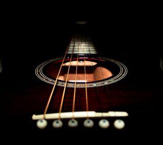 Обои на телефон классика, гитара, черные, инструмент, classical, acoustic