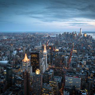 Обои на телефон новый, город, башня, нью йорк, йорк, небоскребы