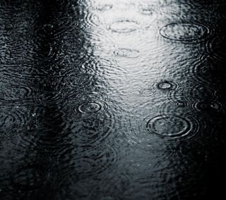 Обои на телефон улица, дождь, rain on street, 2160x1920