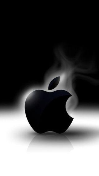 Обои на телефон эпл, черные, логотипы, белые, apple