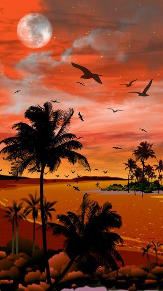 Обои на телефон тропические, остров, tropical dreaming, dreaming