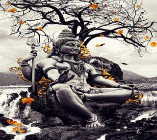 Обои на телефон религия, осень, золотые, духовные, бог, serenity