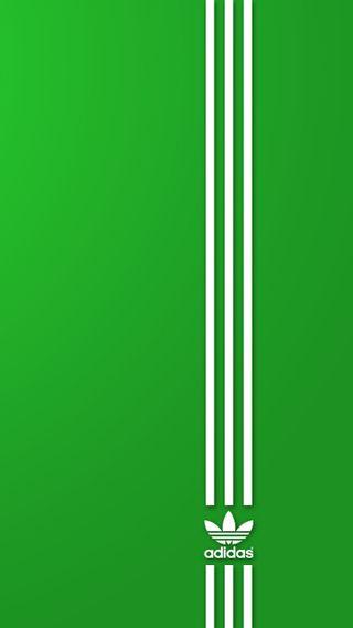 Обои на телефон логотипы, зеленые, бренды, адидас, adidas
