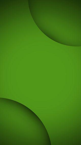 Обои на телефон цветные, круги, зеленые, абстрактные