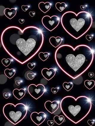 Обои на телефон красота, сердце
