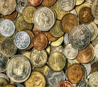 Обои на телефон деньги, coins