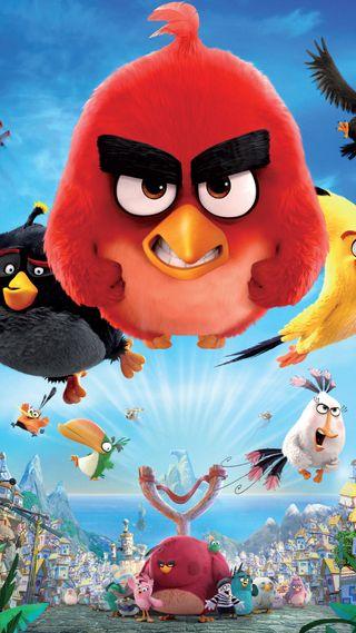 Обои на телефон злые, фильмы, птицы, мультфильмы, angrybirds